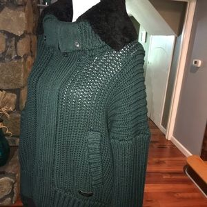 Heave wool Burberry sweater